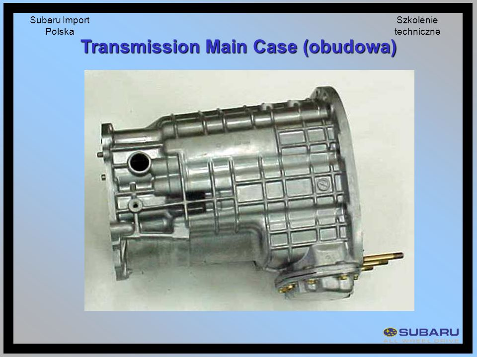 Transmission Main Case (obudowa)