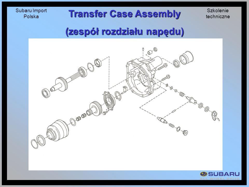 Transfer Case Assembly (zespół rozdziału napędu)