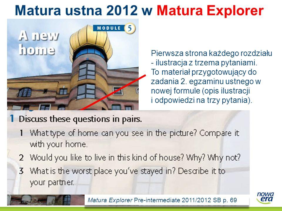 Matura ustna 2012 w Matura Explorer