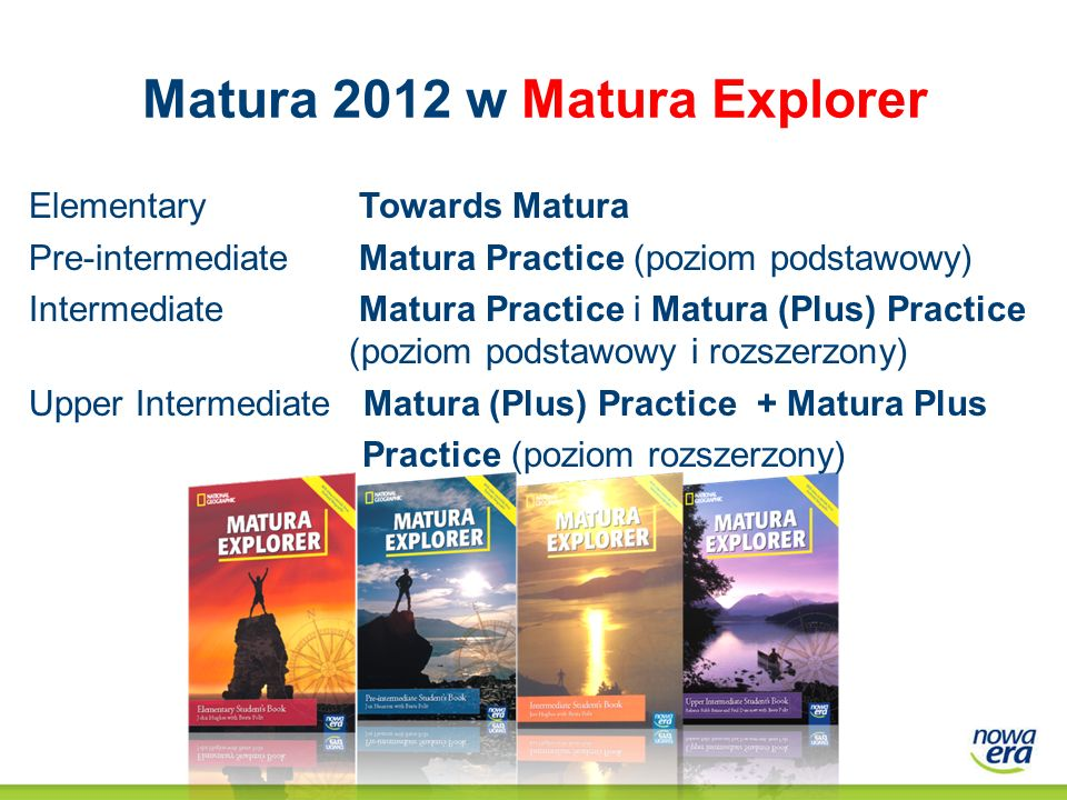 Matura 2012 w Matura Explorer