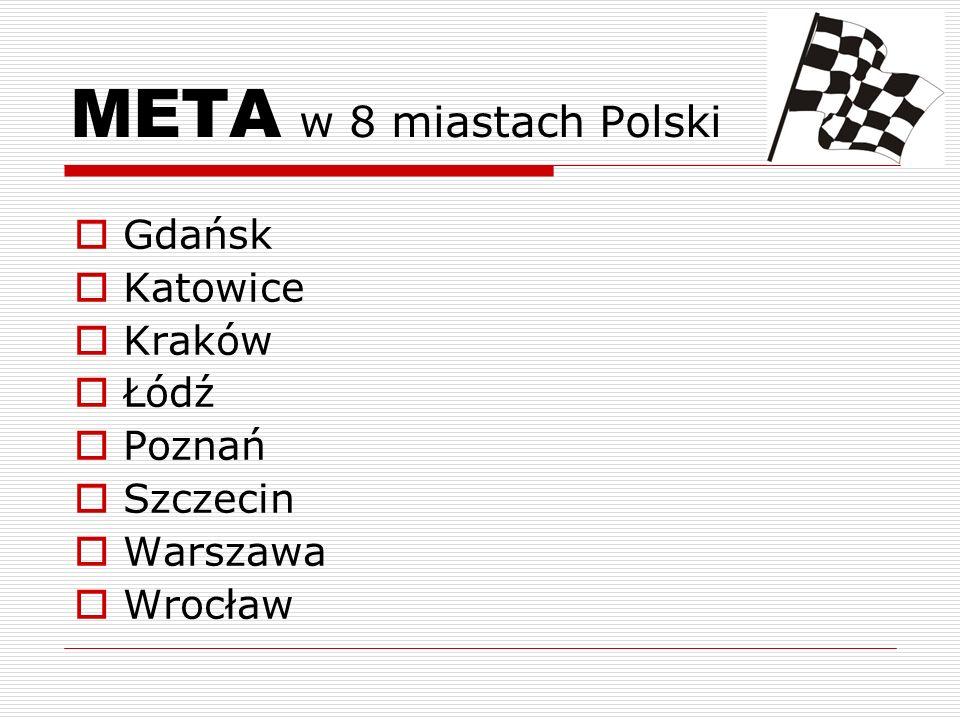 META w 8 miastach Polski Gdańsk Katowice Kraków Łódź Poznań Szczecin