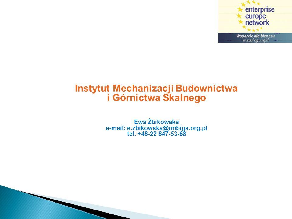 Instytut Mechanizacji Budownictwa i Górnictwa Skalnego