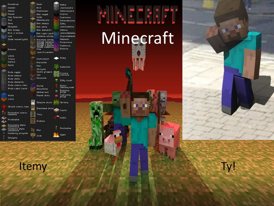 Minecraft Minecraft Itemy Ty!