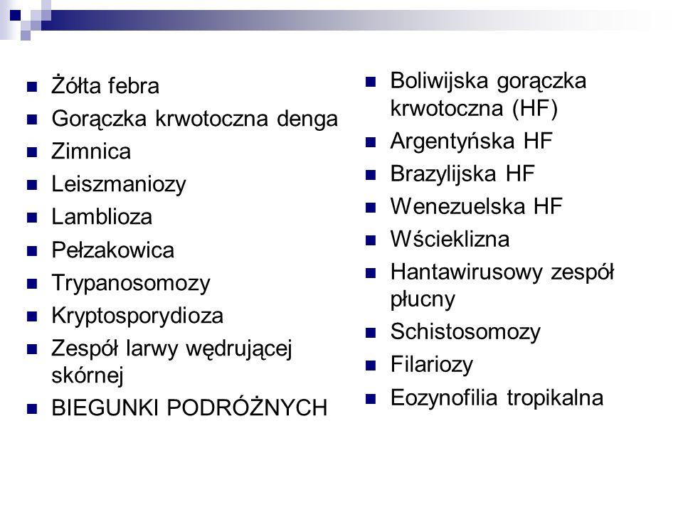 Boliwijska gorączka krwotoczna (HF)