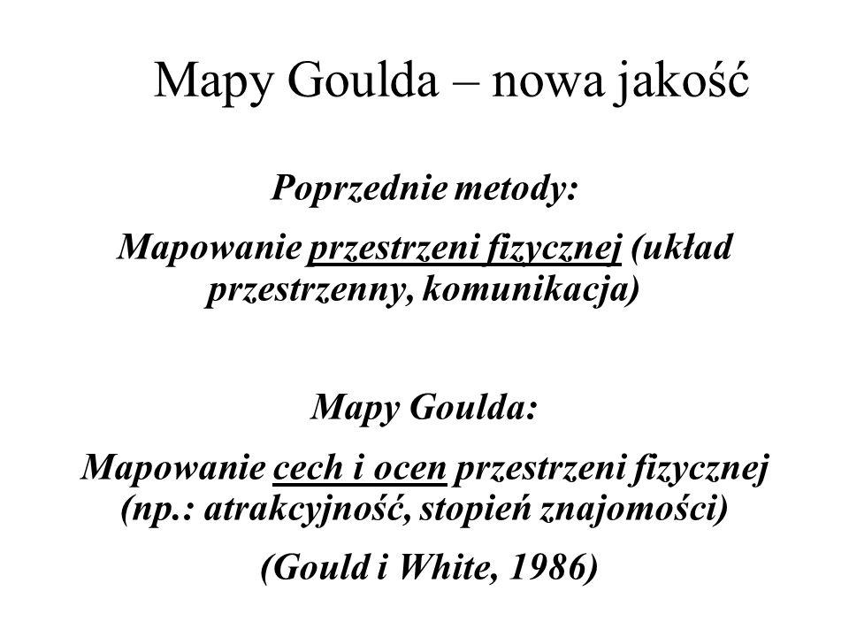 Mapy Goulda – nowa jakość