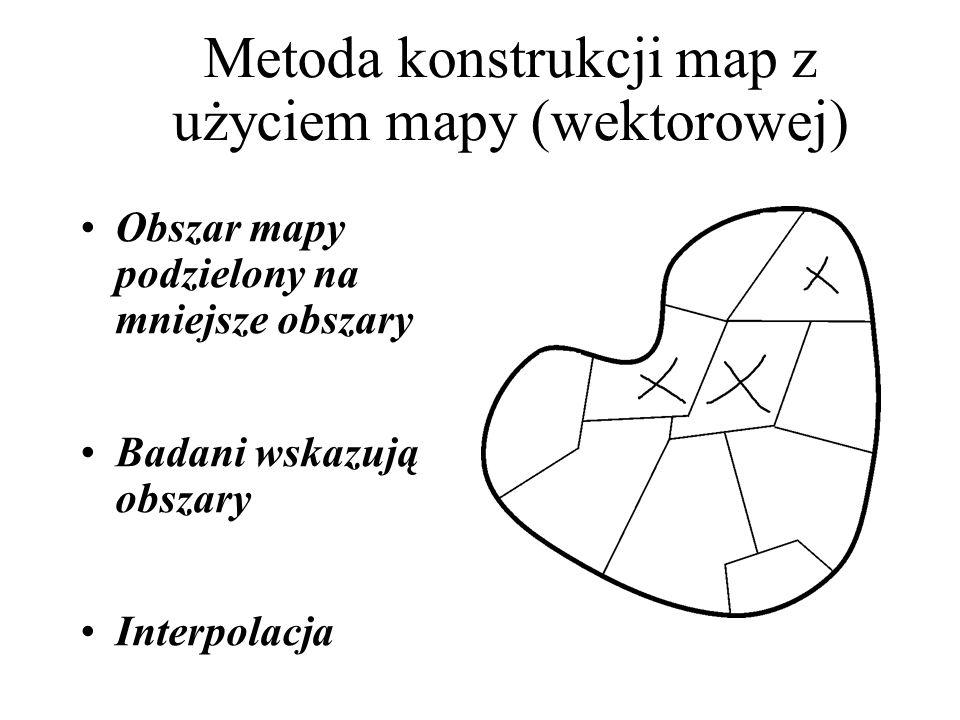 Metoda konstrukcji map z użyciem mapy (wektorowej)