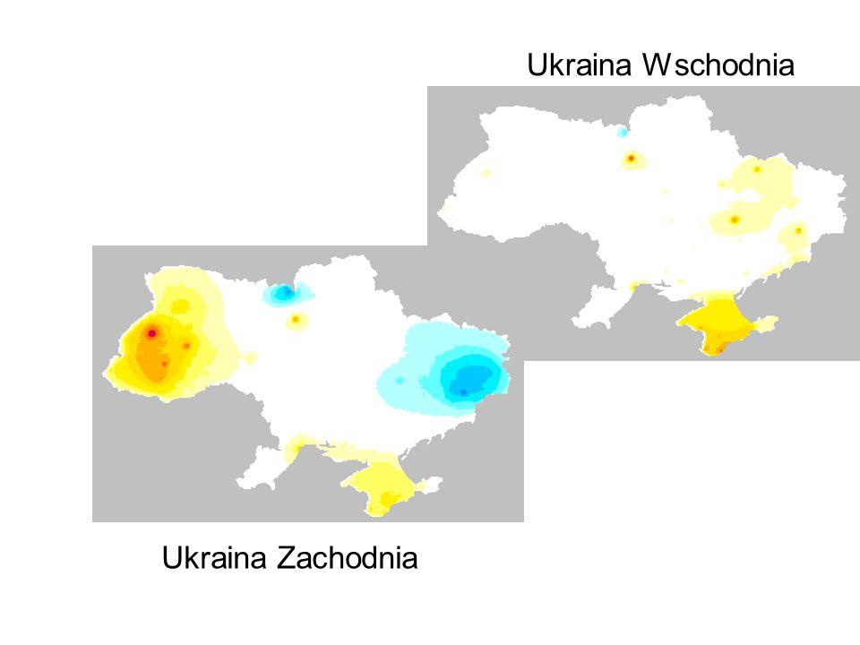Ukraina Wschodnia Ukraina Zachodnia