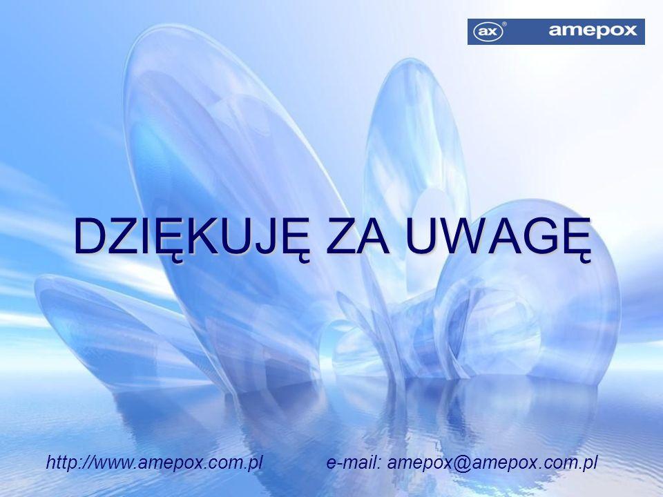 http://www.amepox.com.pl e-mail: amepox@amepox.com.pl
