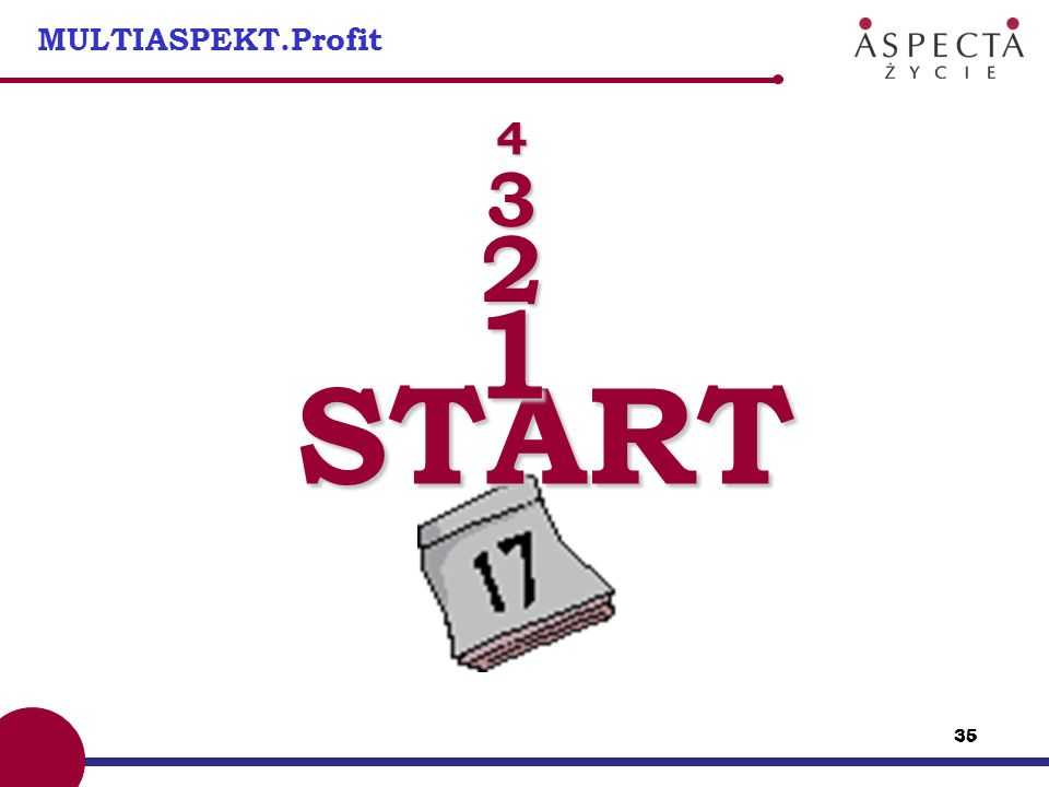 MULTIASPEKT.Profit 4 3 2 1 START
