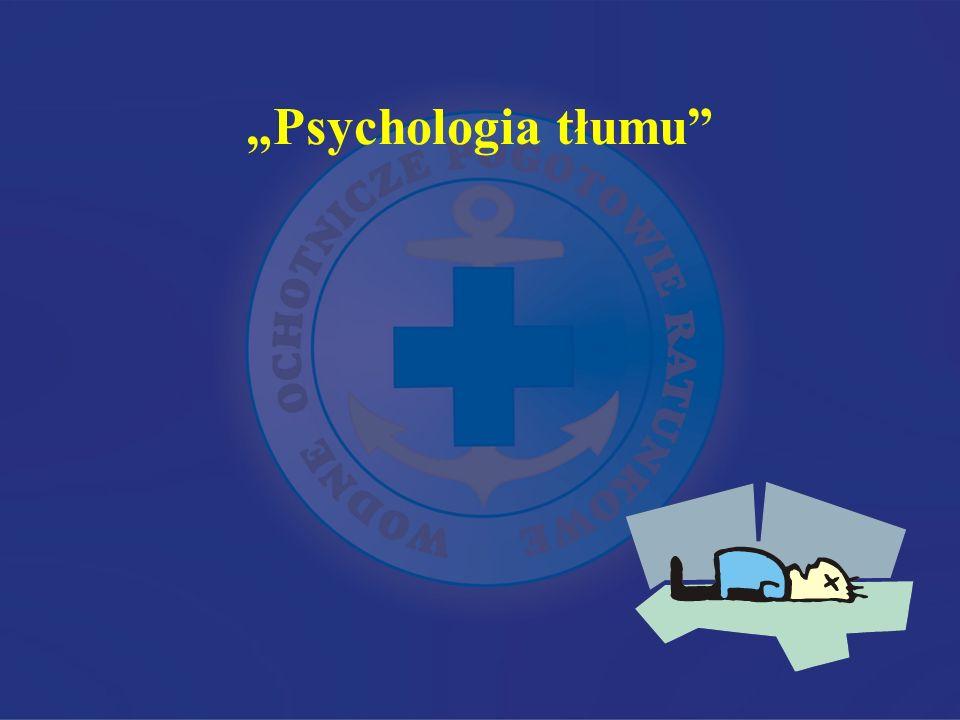 """Psychologia tłumu"