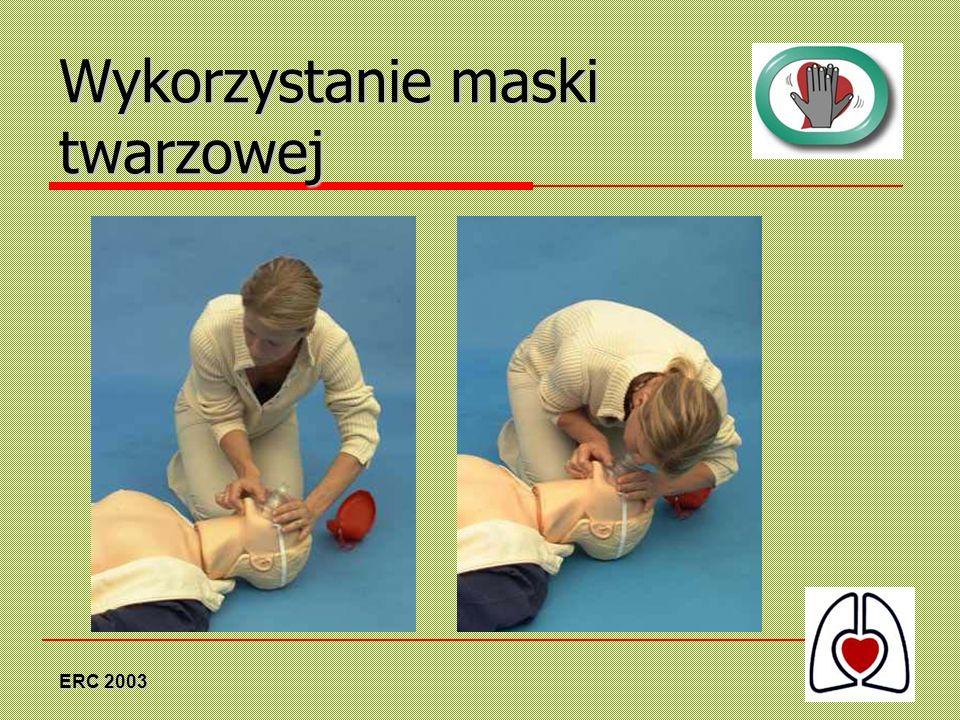 Wykorzystanie maski twarzowej