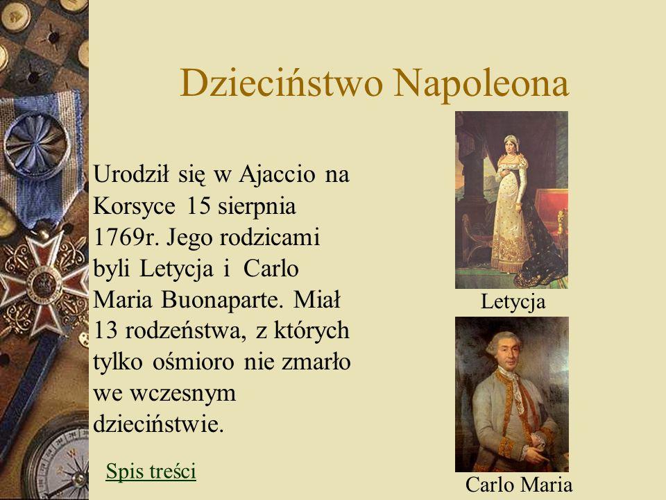 Dzieciństwo Napoleona