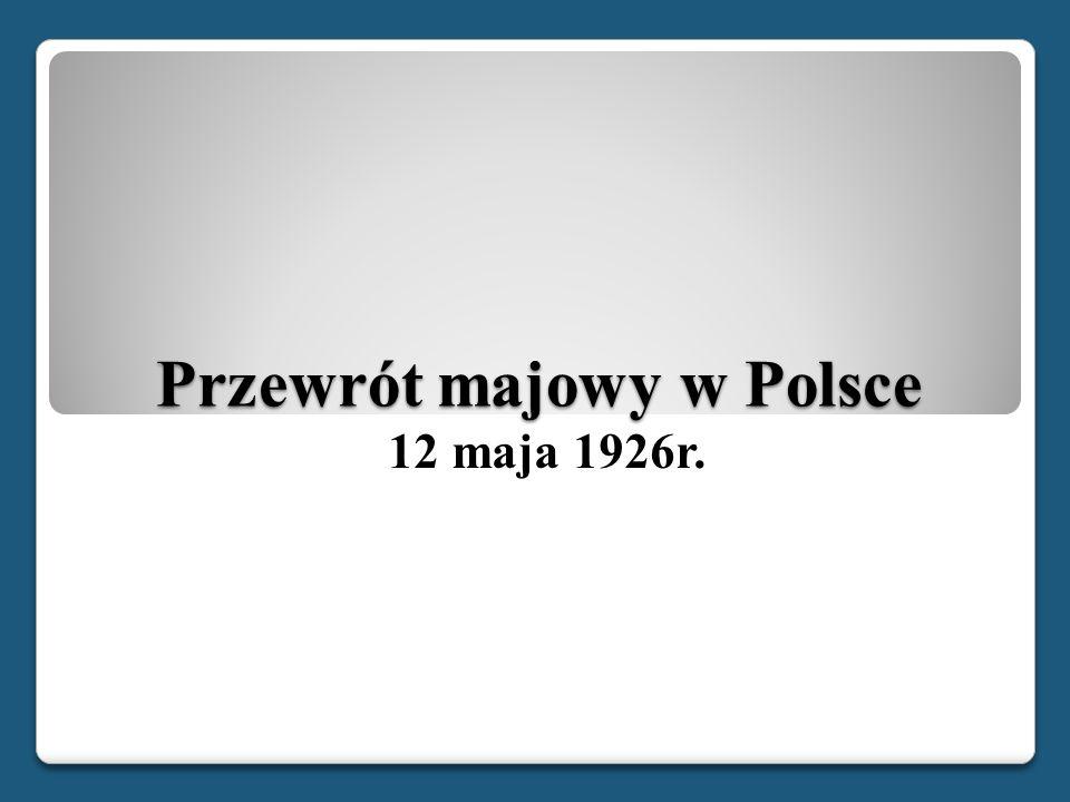 Przewrót majowy w Polsce