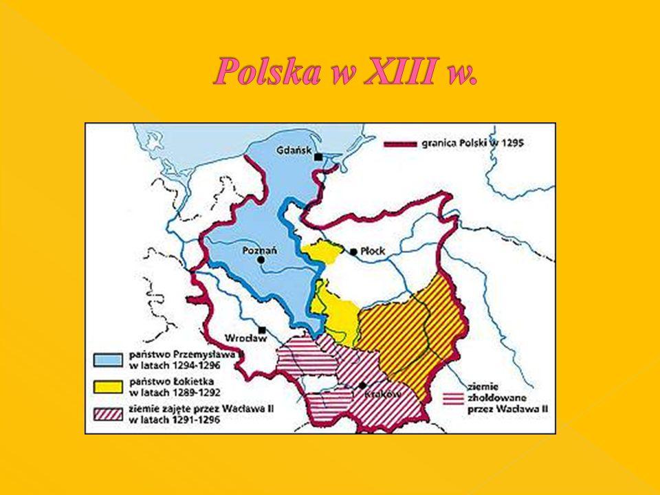 Polska w XIII w.