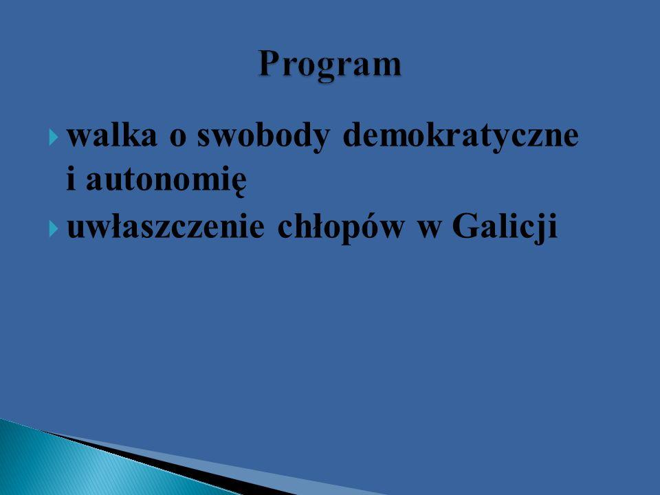 Program walka o swobody demokratyczne i autonomię