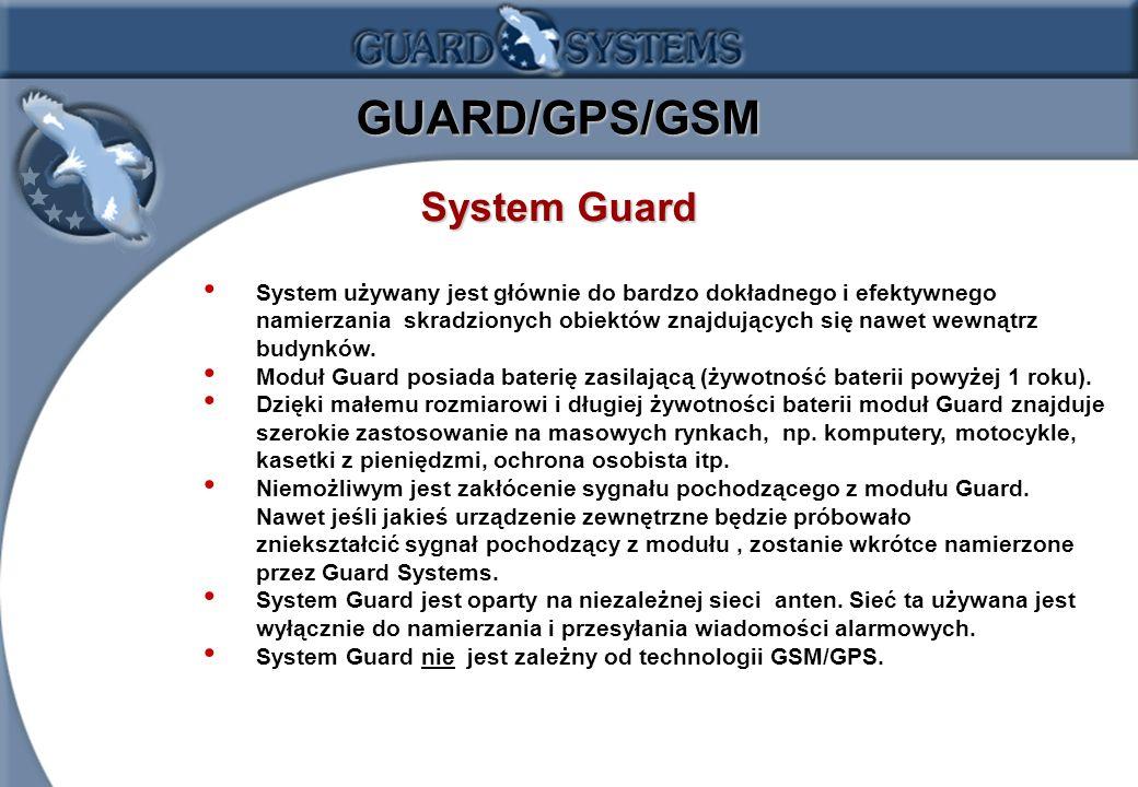 GUARD/GPS/GSM System Guard