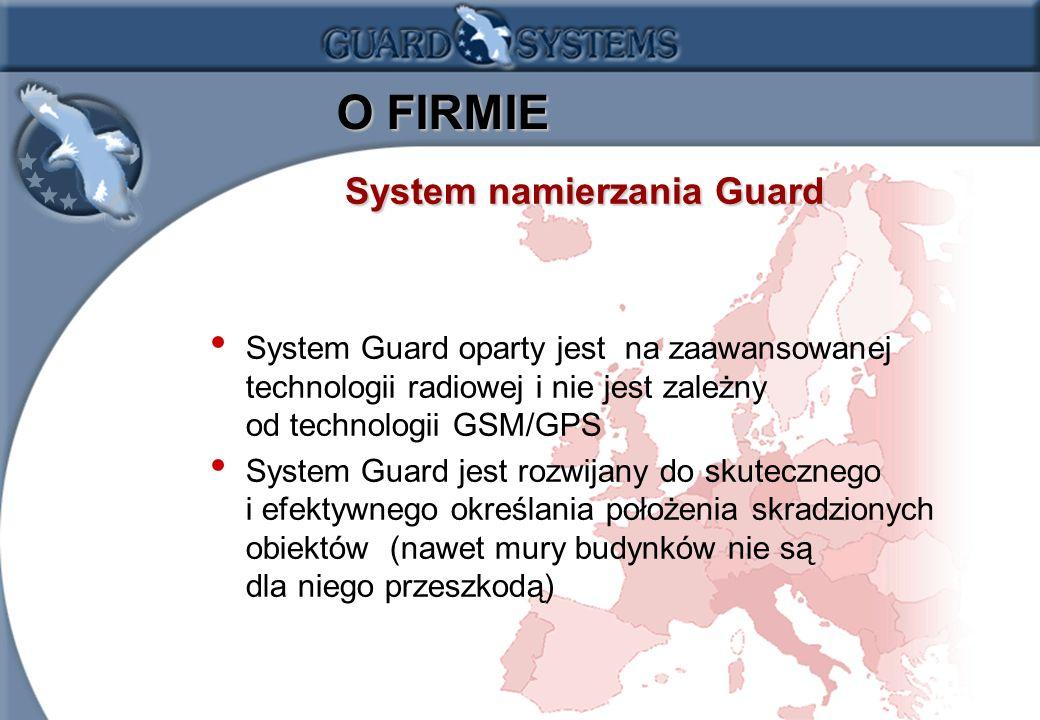 O FIRMIE System namierzania Guard