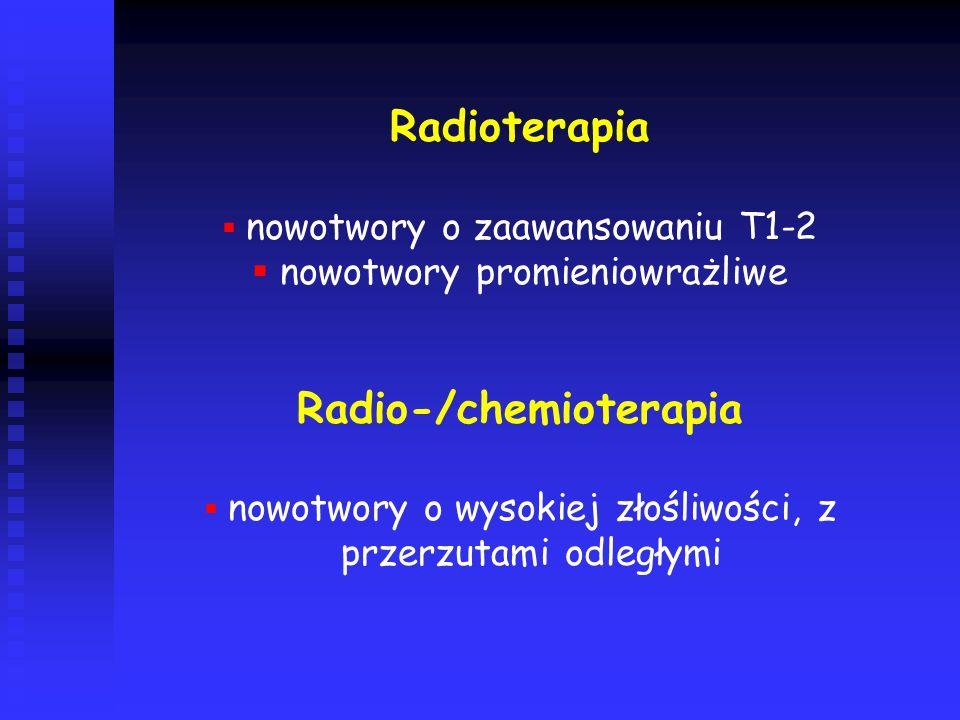 Radio-/chemioterapia