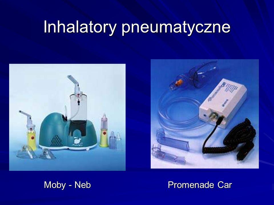 Inhalatory pneumatyczne