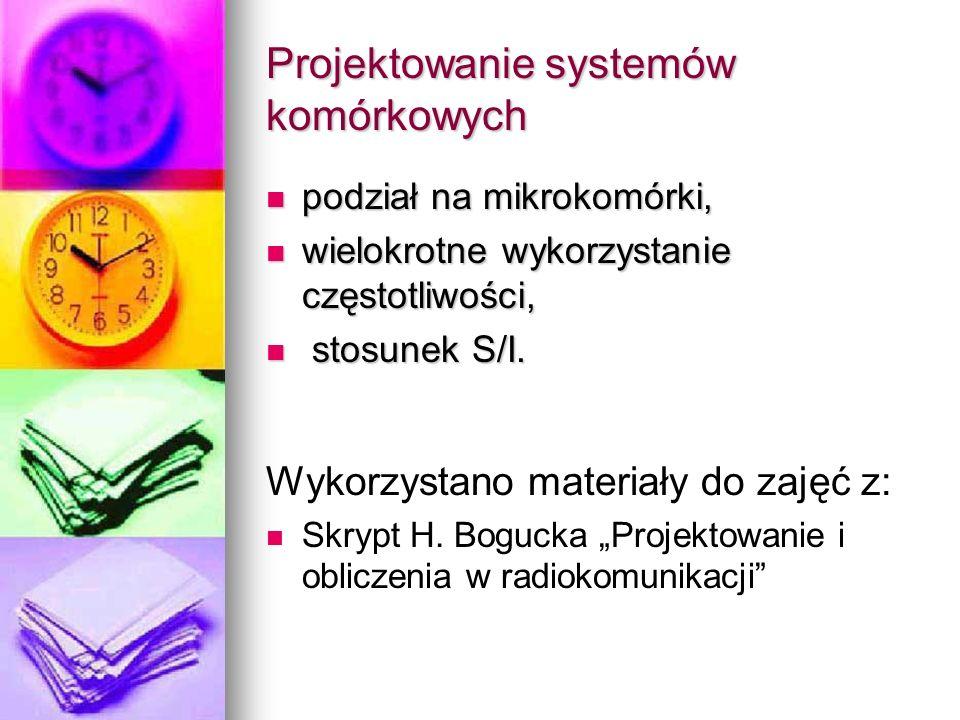 Projektowanie systemów komórkowych