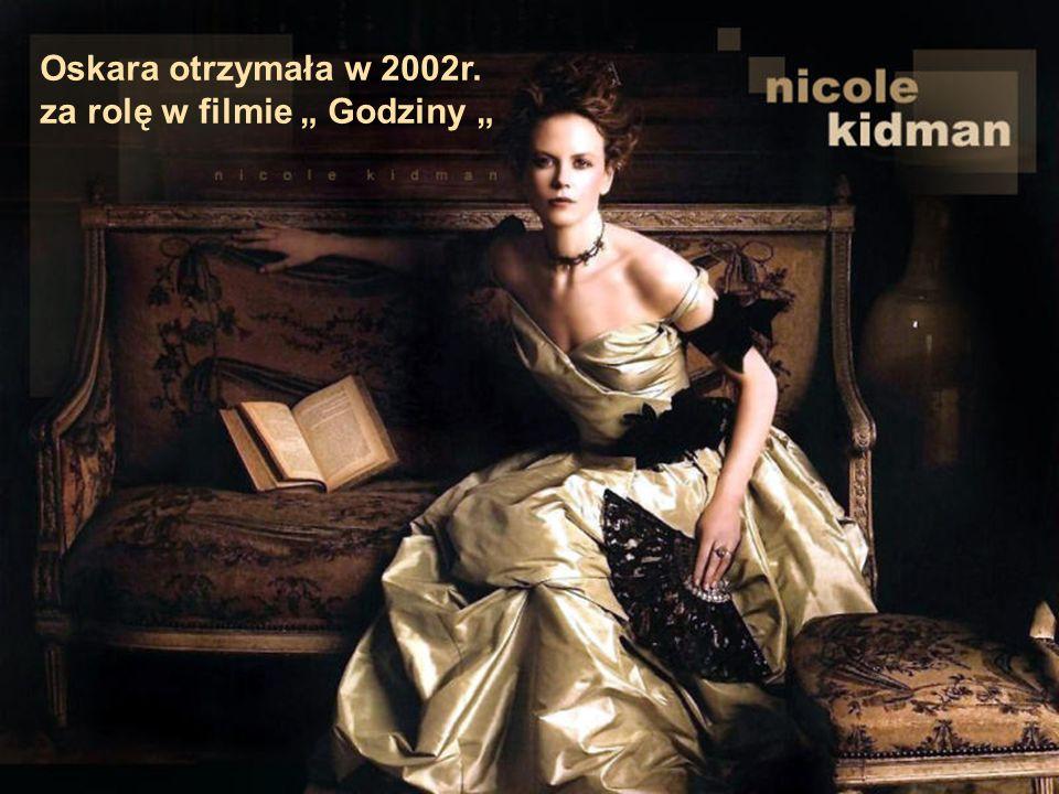 """Oskara otrzymała w 2002r. za rolę w filmie """" Godziny """""""
