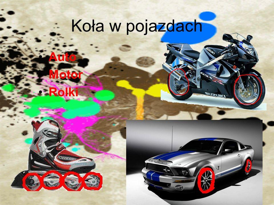Koła w pojazdach Auto Motor Rolki