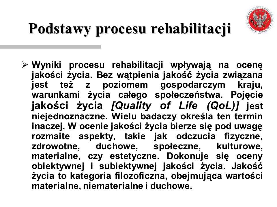 Podstawy procesu rehabilitacji