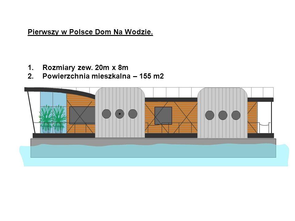 Pierwszy w Polsce Dom Na Wodzie.