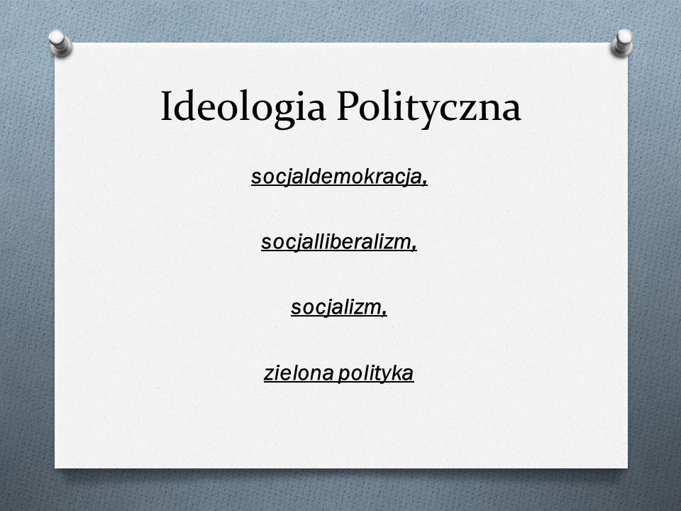 socjaldemokracja, socjalliberalizm, socjalizm, zielona polityka