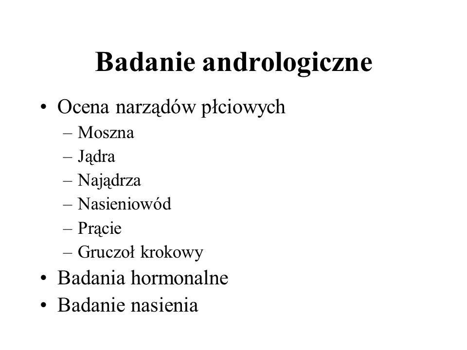 Badanie andrologiczne