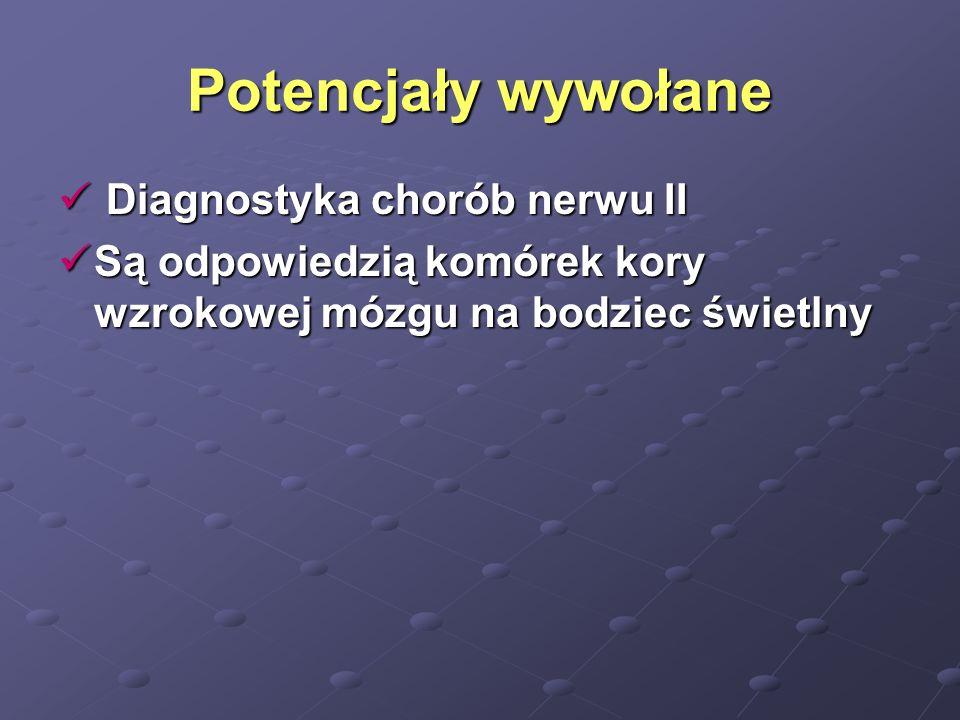 Potencjały wywołane Diagnostyka chorób nerwu II
