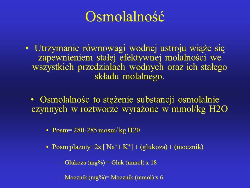 Osmolalność