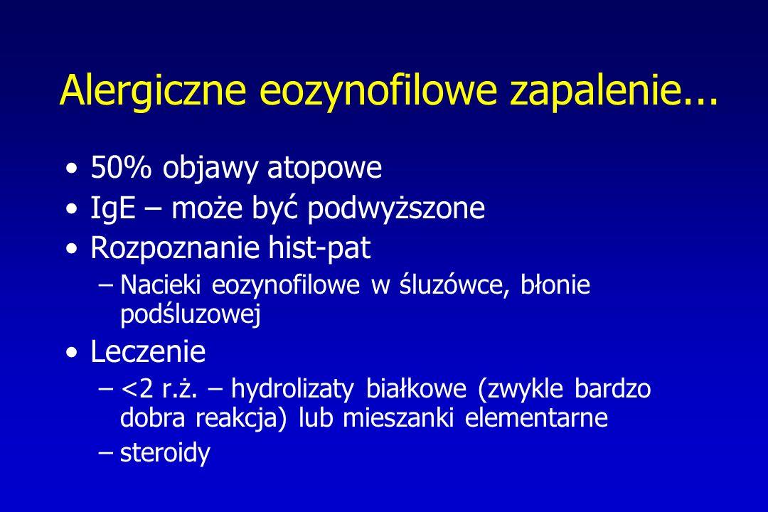 Alergiczne eozynofilowe zapalenie...