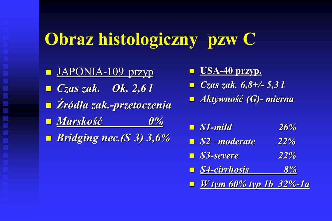 Obraz histologiczny pzw C