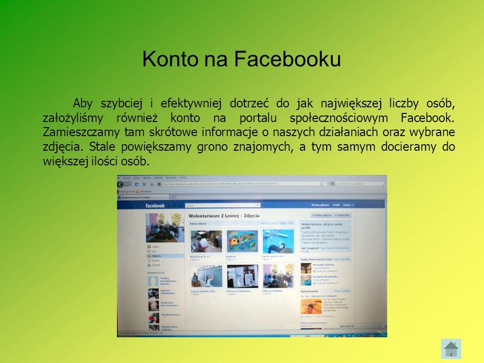 Konto na Facebooku