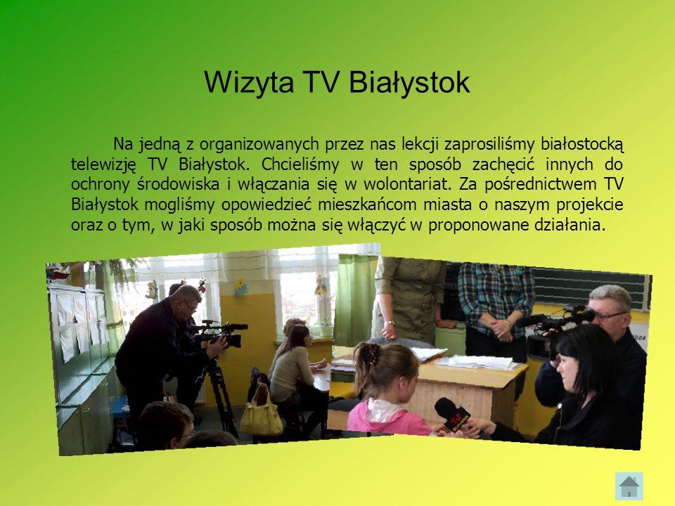 Wizyta TV Białystok