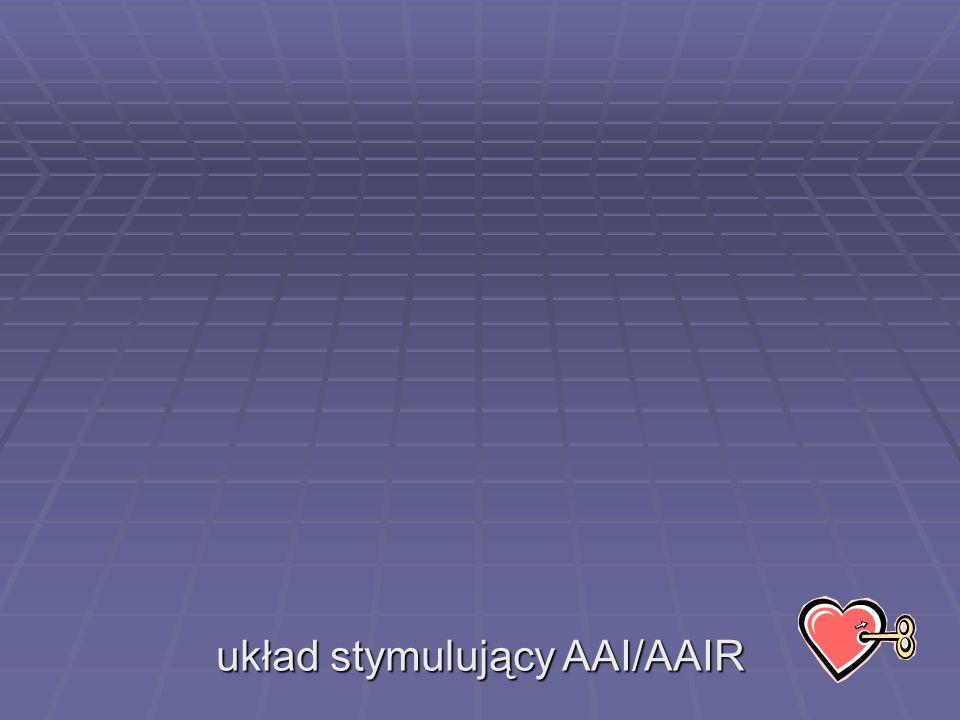 układ stymulujący AAI/AAIR