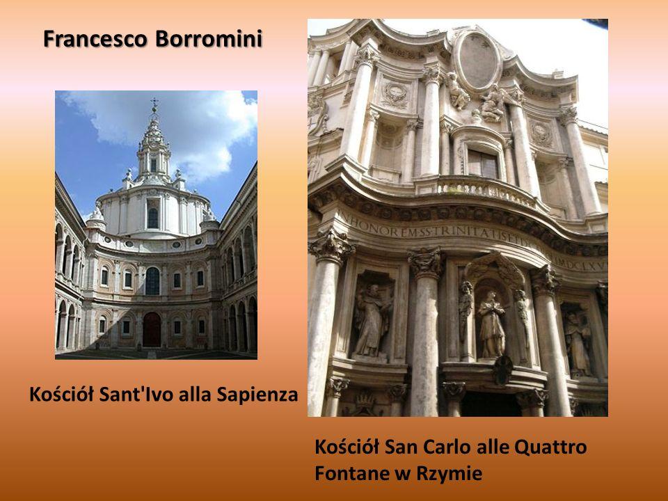 Francesco Borromini Kościół Sant Ivo alla Sapienza