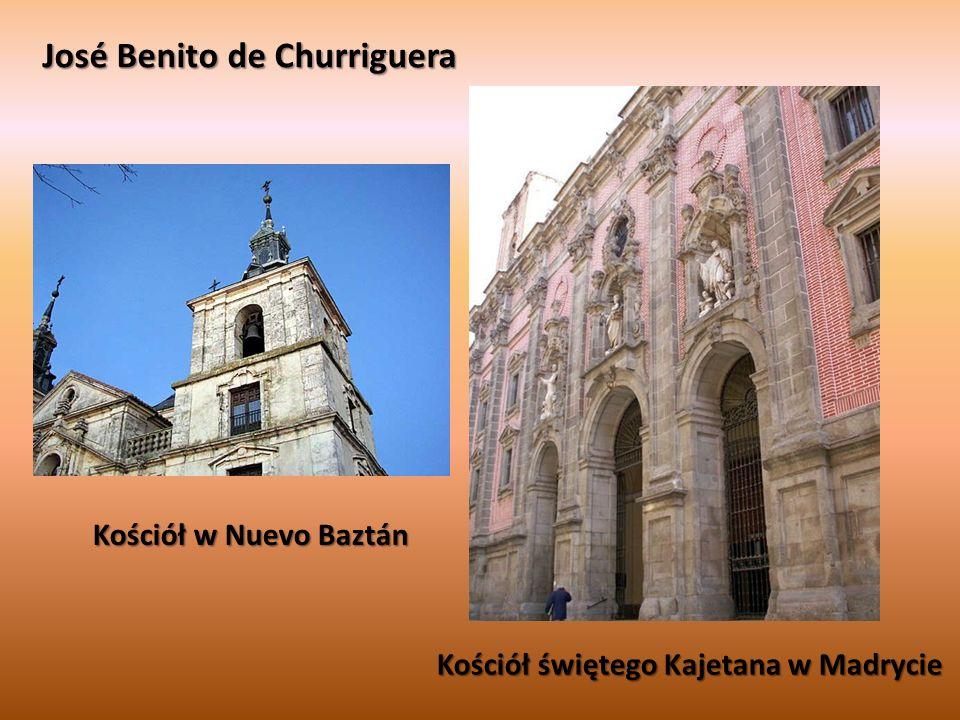José Benito de Churriguera