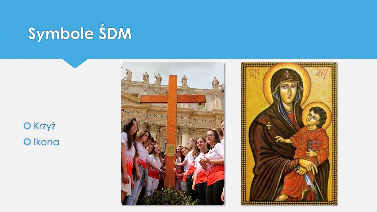 Symbole ŚDM Krzyż Ikona
