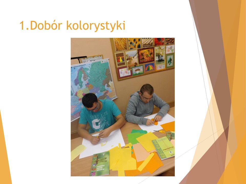1.Dobór kolorystyki