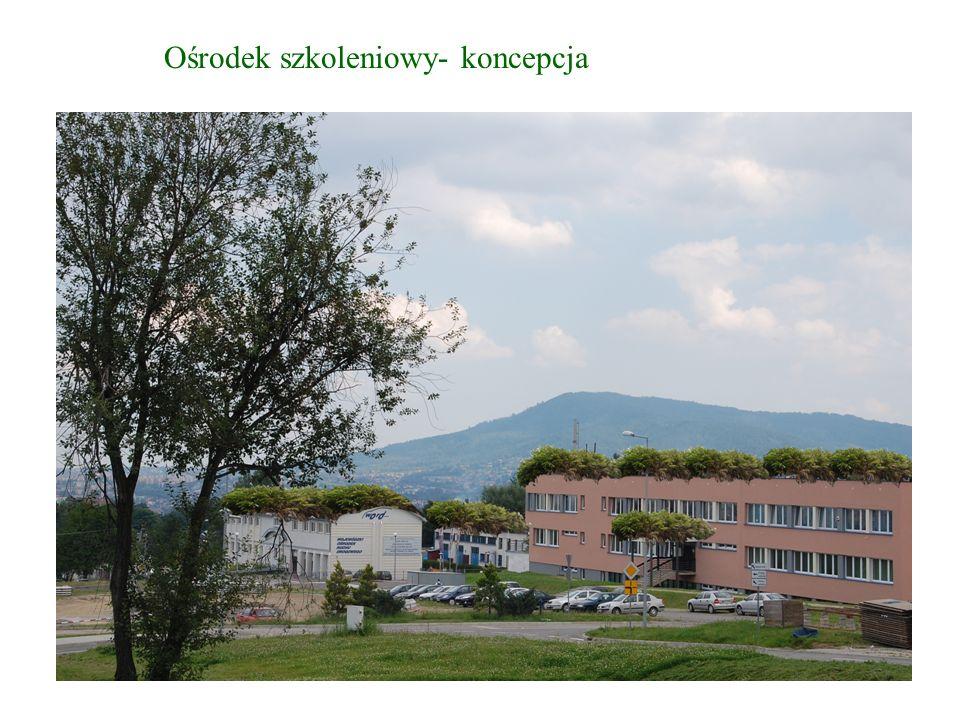 Ośrodek szkoleniowy- koncepcja