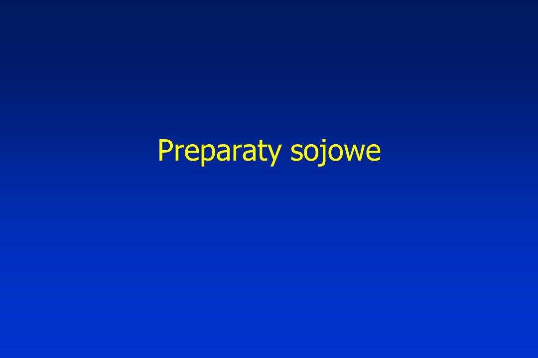 Preparaty sojowe