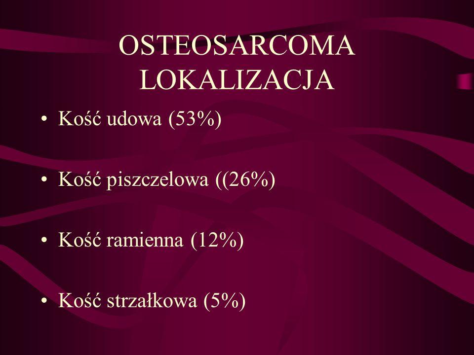 OSTEOSARCOMA LOKALIZACJA