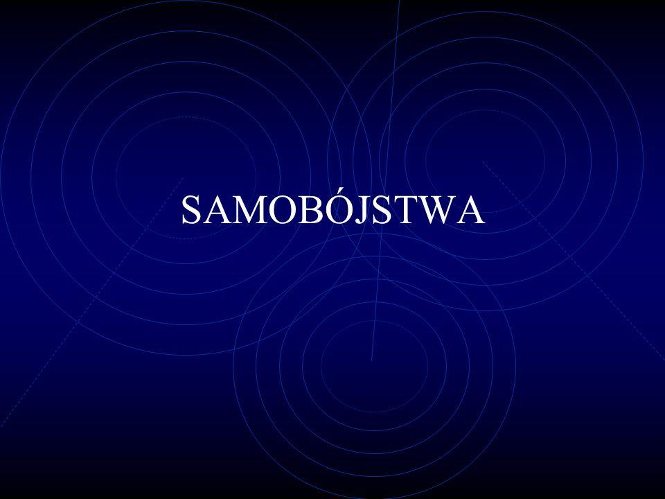 SAMOBÓJSTWA