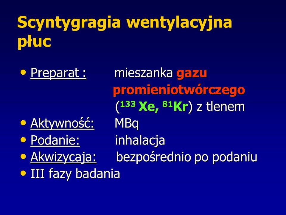 Scyntygragia wentylacyjna płuc
