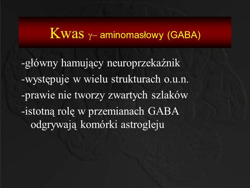 Kwas g- aminomasłowy (GABA)