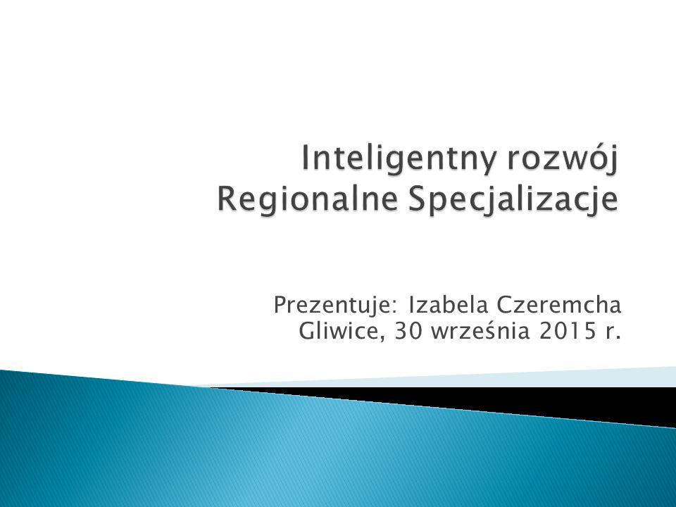 Inteligentny rozwój Regionalne Specjalizacje