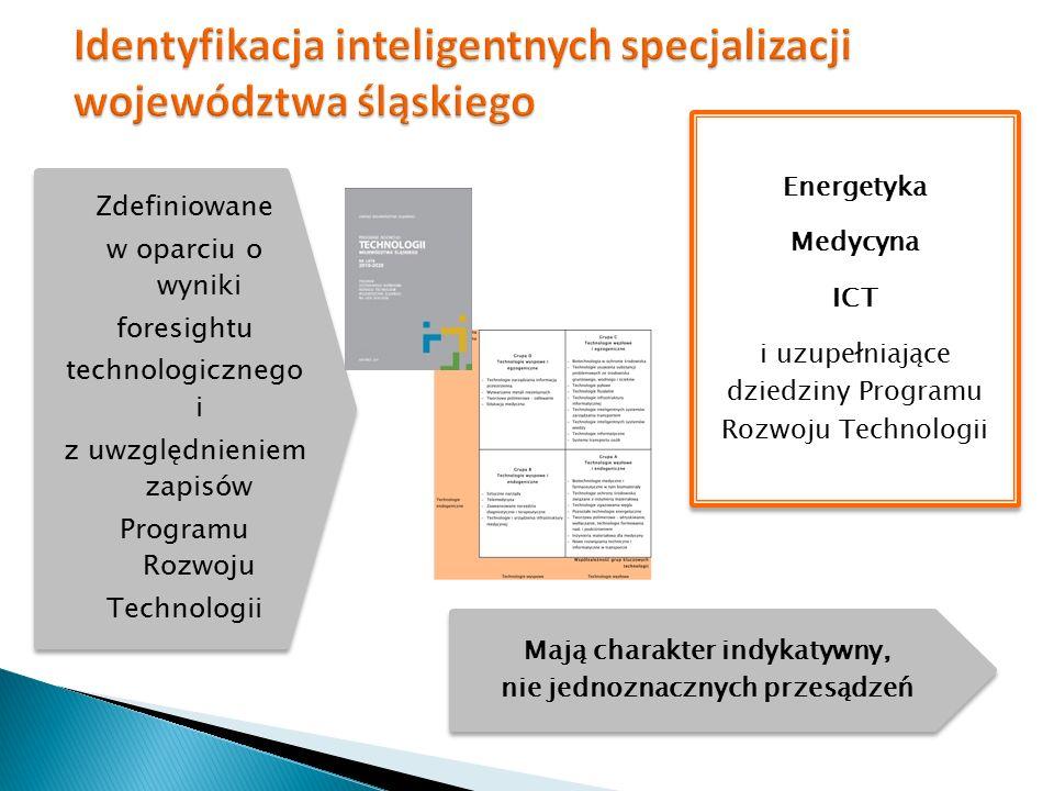Identyfikacja inteligentnych specjalizacji województwa śląskiego