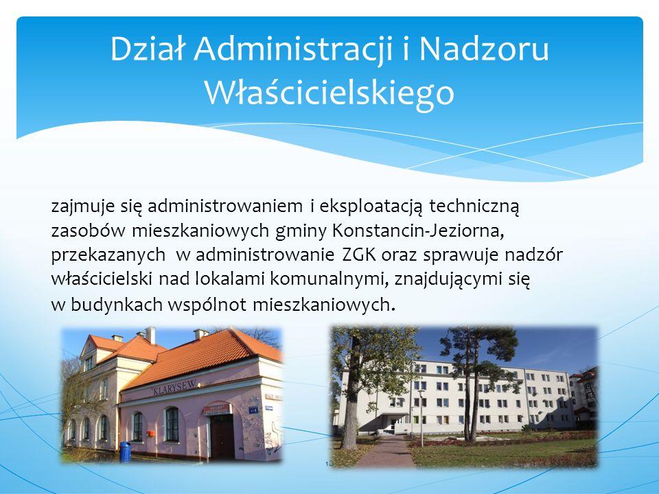 Dział Administracji i Nadzoru Właścicielskiego